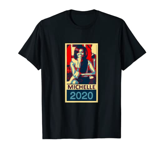 f8d8d571 Image Unavailable. Image not available for. Color: Michelle Obama 2020 T  Shirts-Presidential Campaign Tee Shirt