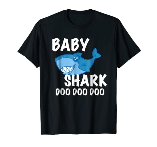 2f5993a082b Image Unavailable. Image not available for. Color  Baby Shark T-Shirt