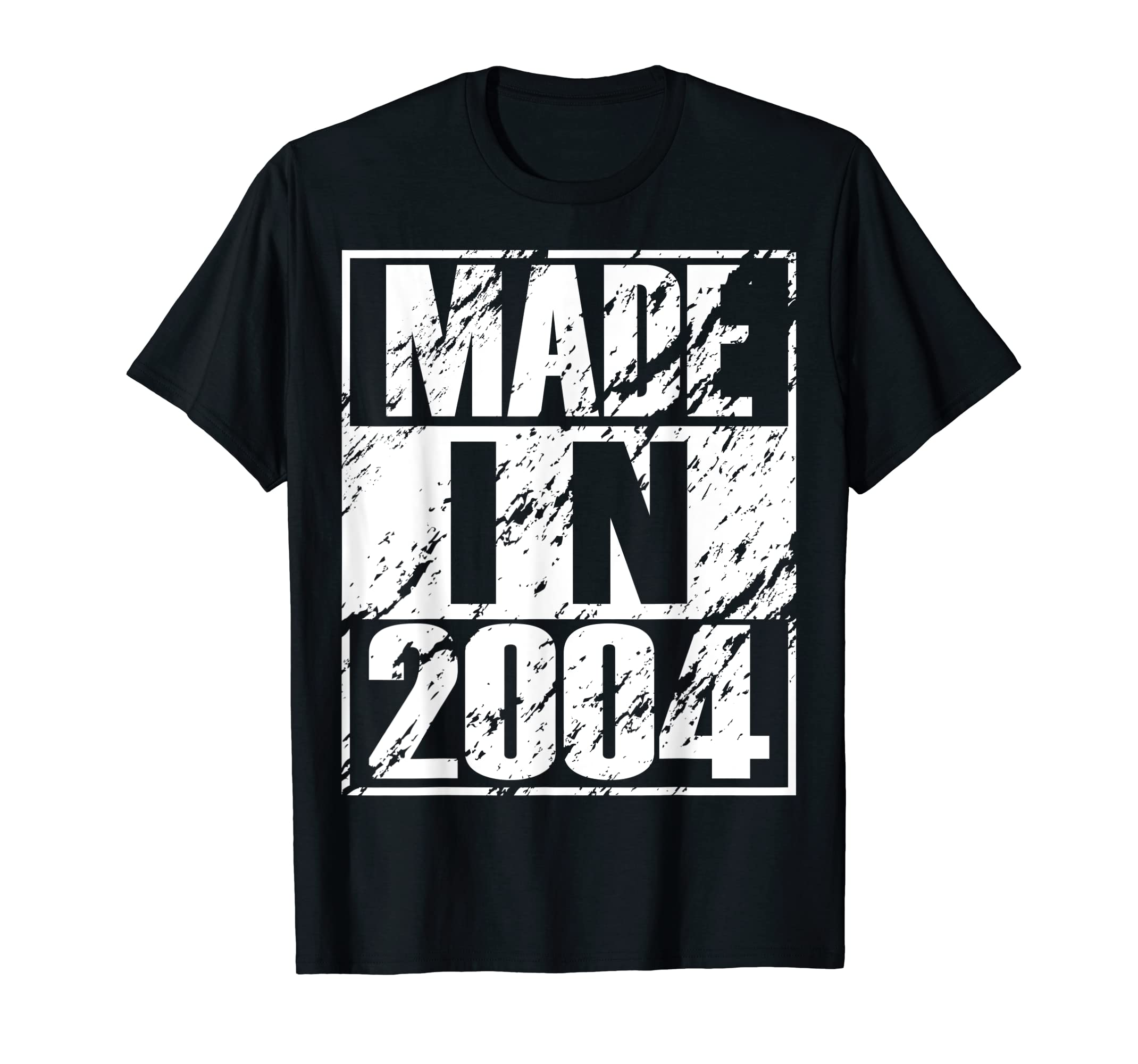 Amazon Vintage 15th Birthday Gift Funny Made In 2004 T Shirt Clothing