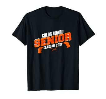 Amazon Com Funny Marching Band T Shirts Senior Color Guard Class