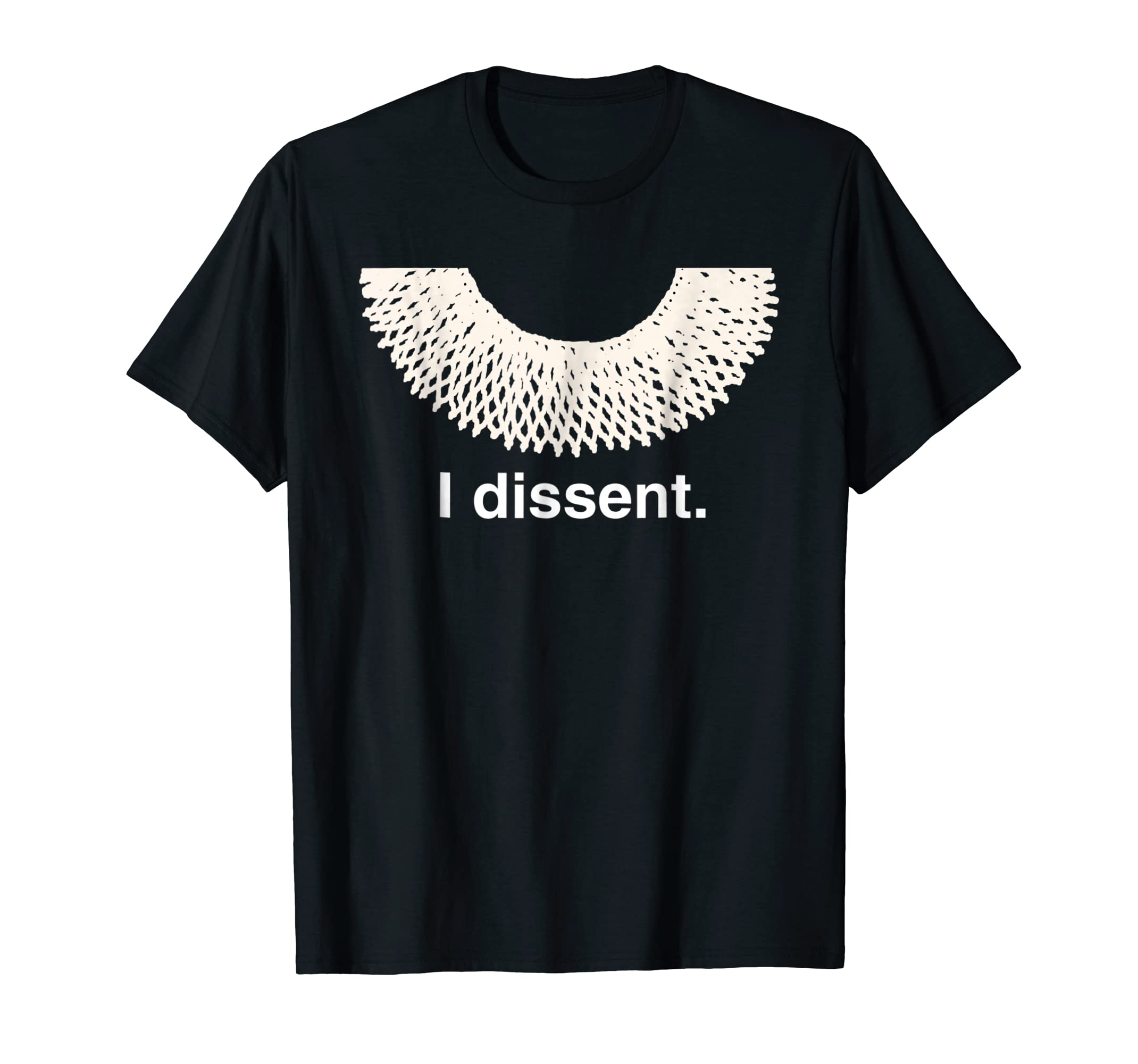 Amazon Ruth Bader Ginsburg Dissent Collar T Shirt Rbg Costume