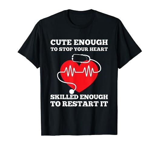 284fc4c22e938 Amazon.com: Nurse Shirt- Nurse Gift - Funny Nurse T-Shirt: Clothing