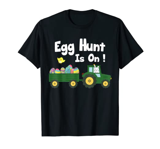 72391250 Amazon.com: Egg Hunt Is ON ! Funny Easter T-Shirt Design: Clothing