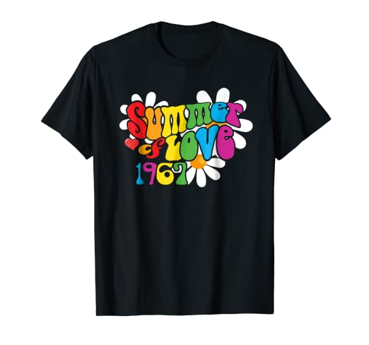 e18bd9f5f34 1967 Summer of Love T-Shirt Hippie 50th Anniversary Shirt