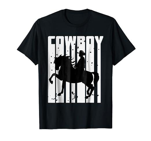 Amazon.com  Vintage Rodeo Cowboy T-Shirt  Clothing 5c5fc0a34