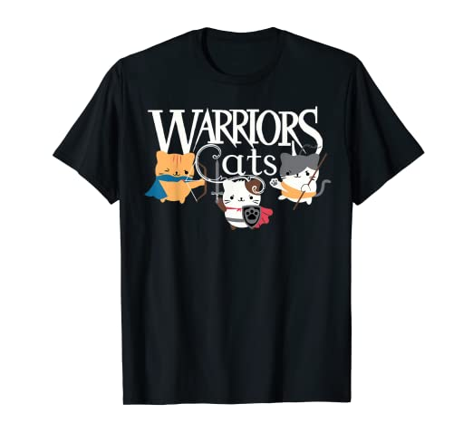 a912e05b8 Image Unavailable. Image not available for. Color: warriors cats tshirt