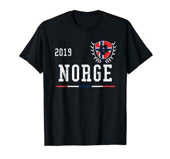 promo code ade11 76b2f Amazon.com: Norway Football Jersey 2019 Norwegian Soccer T ...