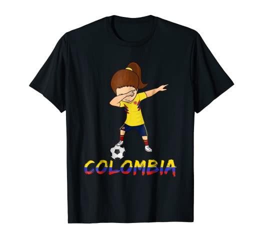 e0df3ec87 Image Unavailable. Image not available for. Color  Dabbing Colombia Shirt  ...