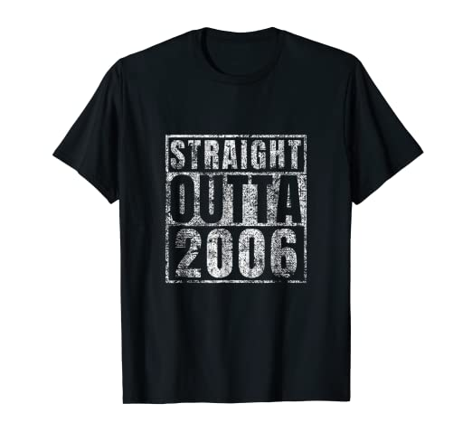 Image Unavailable Not Available For Color Straight Outta 2006 13th Birthday Gift 13 Year Old