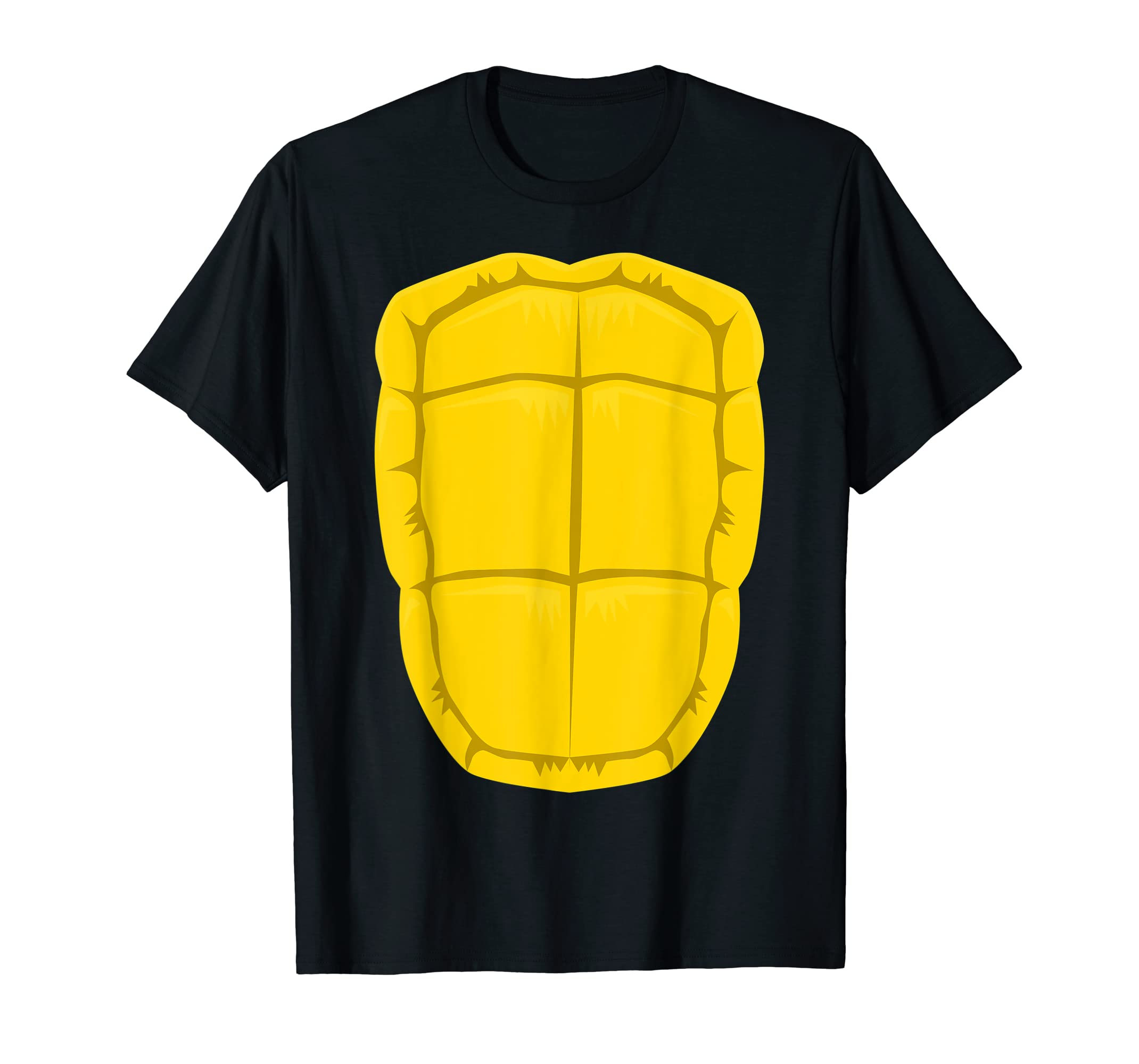 Funny Turtle Shell Halloween Costume Shirt Gift Clever DIY-Men's T-Shirt-Black