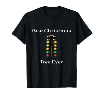 Amazon Com Drag Racing Funny Christmas Design Best Christmas Tree