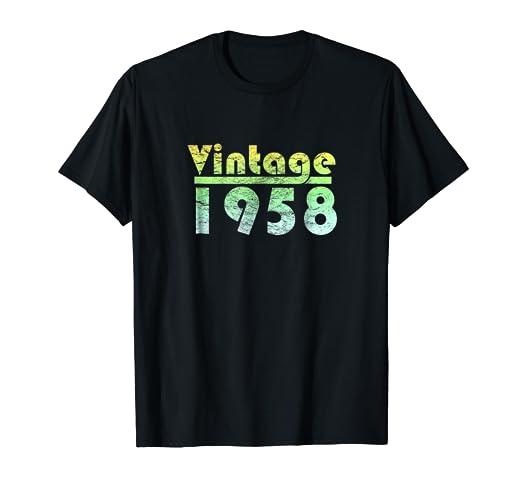 Amazon Vintage 1958 60th Birthday 2018 T Shirt Men Women Gift