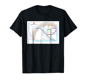 Metro Map Lisbon Portugal.Amazon Com Lisbon Subway Map Portugal T Shirt Clothing
