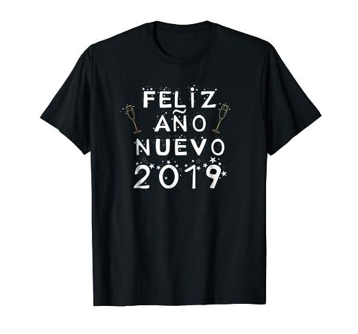 Amazon.com: Happy New Year in Spanish Feliz Ano Nuevo 2019: Clothing
