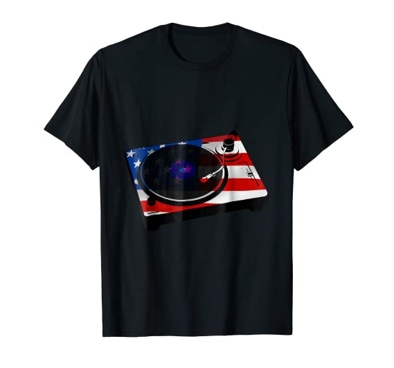 American DJ Turntable TEE Shirt for music fans and producers