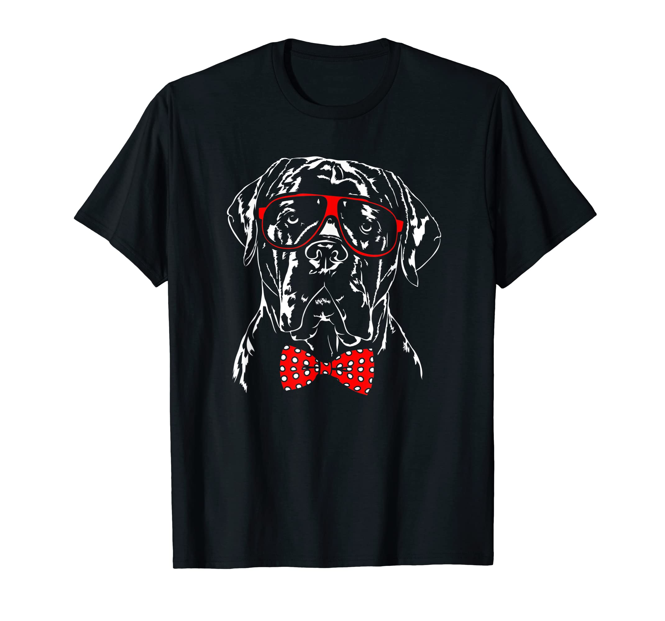 Funny Cute Cane Corso mom dog lover gift T-Shirt-Men's T-Shirt-Black