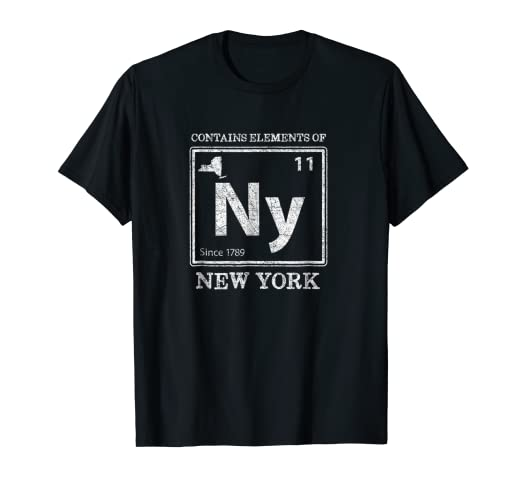 Amazon elements of new york funny home state periodic table elements of new york funny home state periodic table urtaz Images