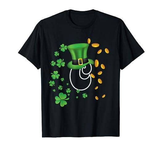 2ec5550d5 Amazon.com: Super Lucky & Cute Irish Capital Letter C Monogram T ...