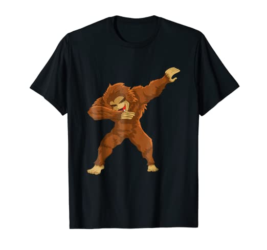 c1fe364e2 Image Unavailable. Image not available for. Color: Dabbing Bigfoot T Shirt:  ...