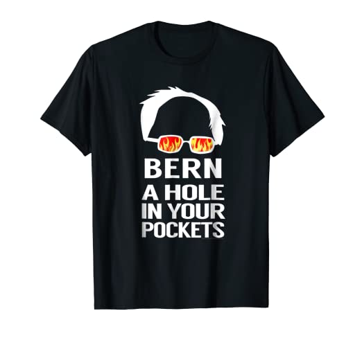 327f19c4 Image Unavailable. Image not available for. Color: Anti-Bernie Sanders  Socialism Funny Conservative T-Shirt