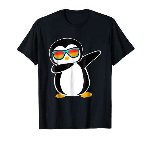 9ac9588a5708 Amazon.com  Dabbing Penguin Shirt