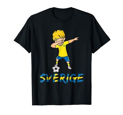 Amazon Com Sweden Dabbing Shirt 2018 Football Kit Soccer Sverige
