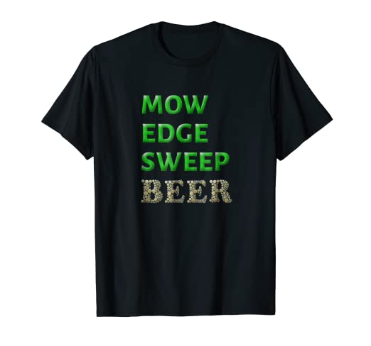 d2c5bf12a Image Unavailable. Image not available for. Color: Lawn Mowing T Shirt  Funny Lawn Mower Beer Lover Gift For Dad
