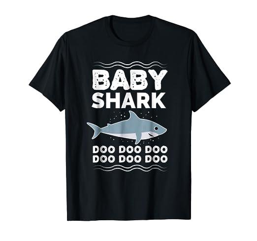 bf0efc9f Amazon.com: Baby Shark Doo Doo Doo T-shirt   Matching Family Shirt ...