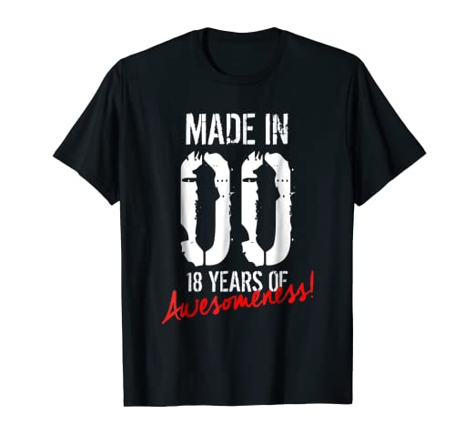 18th Birthday Gift Shirt