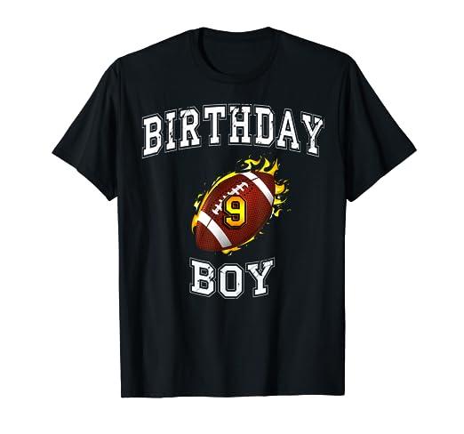 Amazon 9th Birthday Boy Shirt