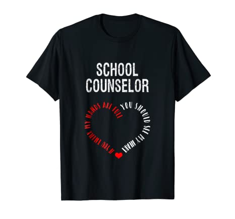 6dd8866403 Image Unavailable. Image not available for. Color: School Counselor - You  Should See My Heart   Adorable Tee