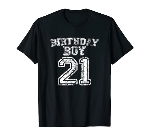 Image Unavailable Not Available For Color 21st Birthday Sports Jersey T Shirt