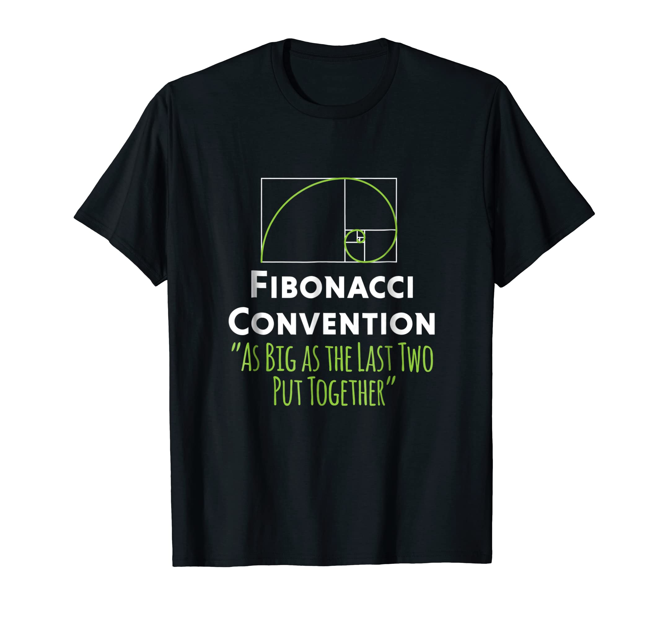 b686157750 Amazon.com: Funny Math T Shirt Fibonacci Convention Number Theory: Clothing