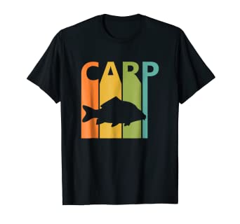 5a00f604 Image Unavailable. Image not available for. Color: Funny Carp Fishing T- shirt ...