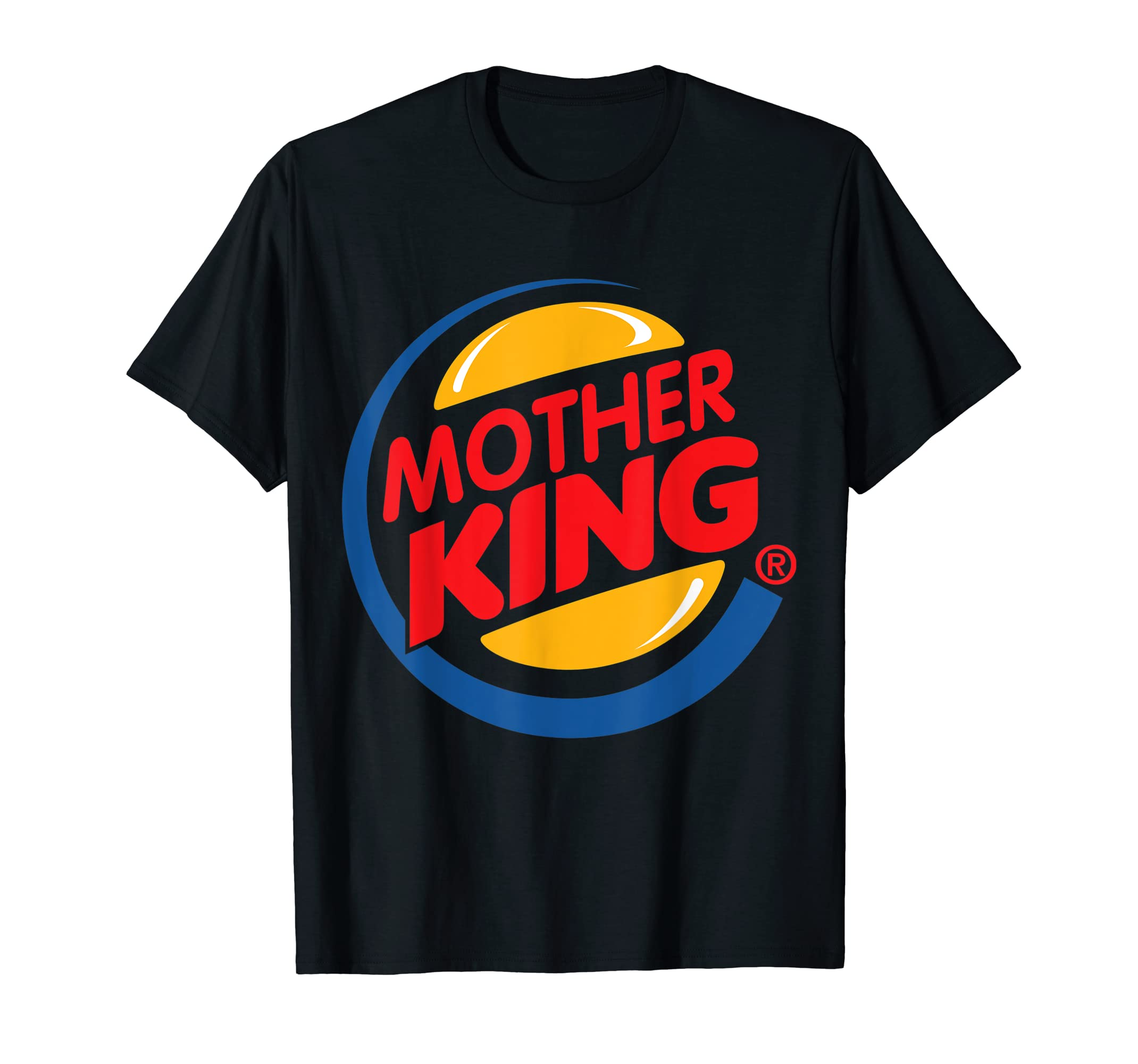 Mothers Day Gift from Daughter Son - Mother King Tshirt-Men's T-Shirt-Black