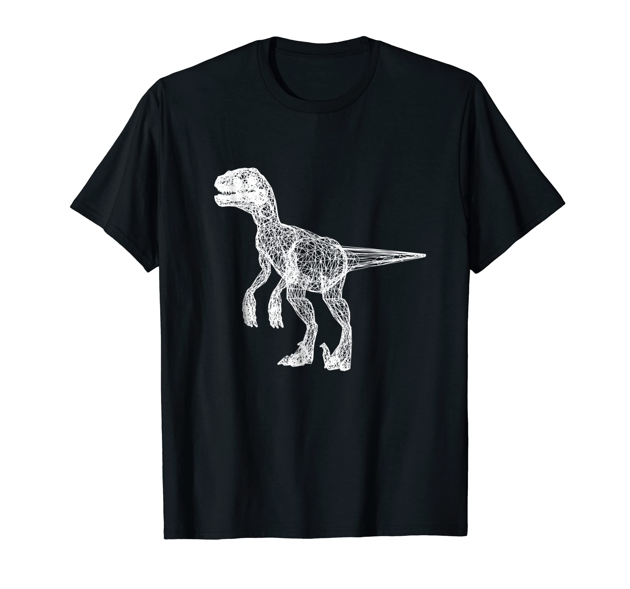 996efcff4 Amazon.com  T-rex Skeleton Shirt Awesome Dinosaur White Graphic Tee ...