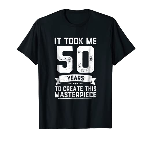 Amazon Funny 50 Years Old Joke T Shirt 50th Birthday Gag Gift