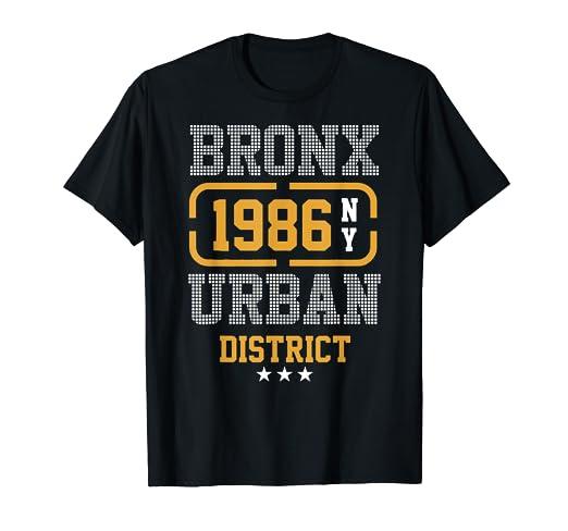 90c697c9c Amazon.com: Bronx urban district New York USA t-shirt: Clothing