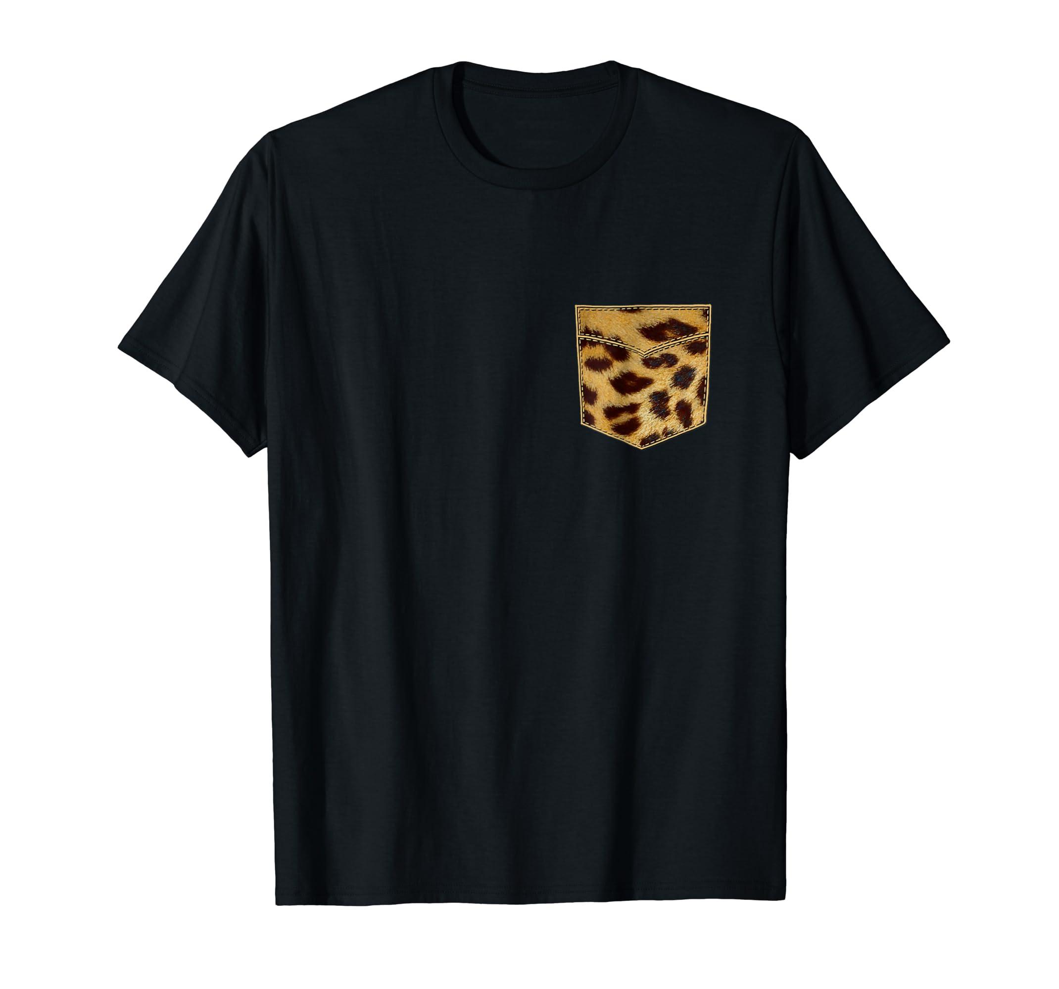 Amazon Leopard Print Shirt Leopard Pocket Tee Leopard Design