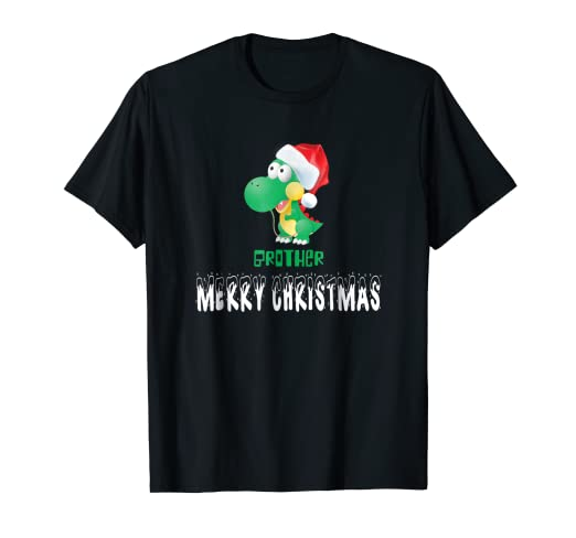Image Unavailable. Image not available for. Color  Brother Christmas Santa  Family Matching Pajamas Gift T-Shirt 6b7f3f69e