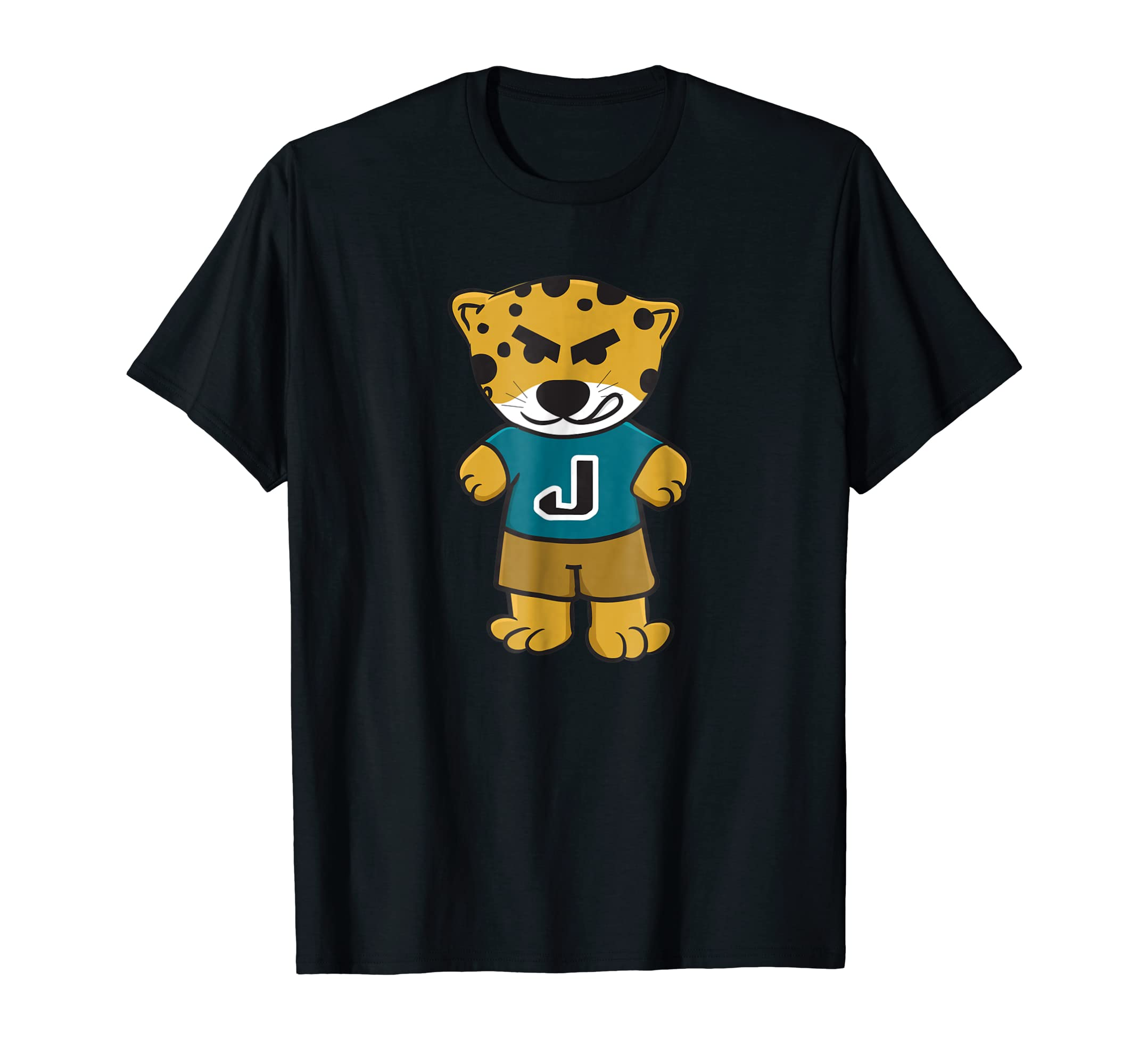 Amazon.com  Jaguar with Teal Jersey Shirt  Clothing d8691ebd3