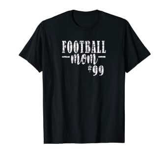 17bf4fe2a36 Image Unavailable. Image not available for. Color  Football Mom Shirt  99