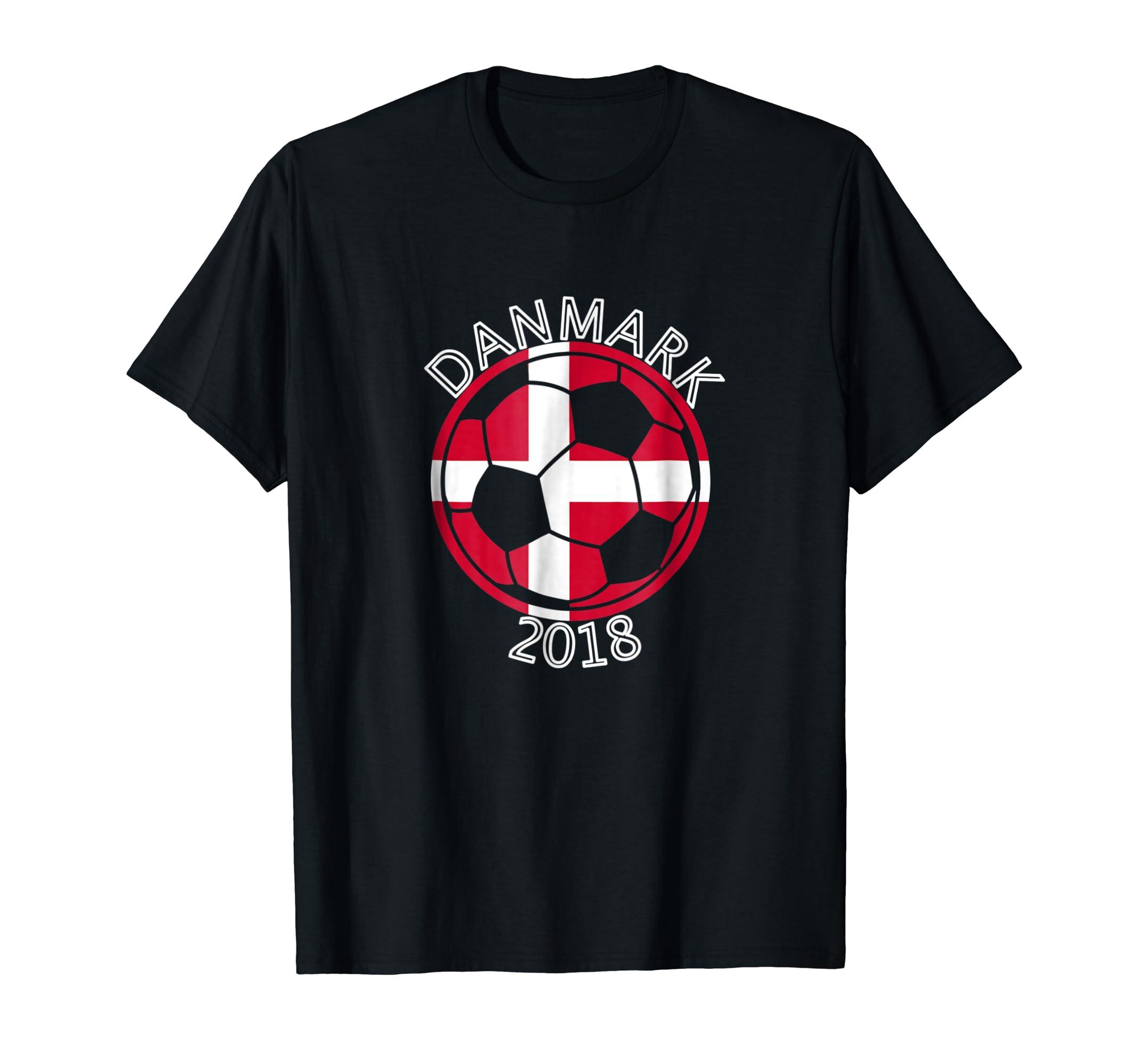 45053e349 Amazon.com  Danmark Denmark Danish Soccer Team 2018 T-Shirt Football   Clothing