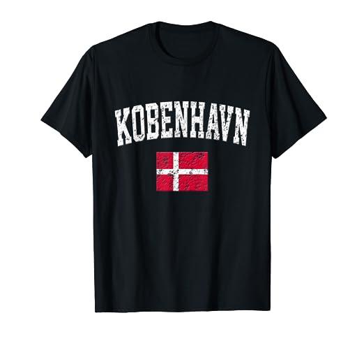 a7e9661ce54c Amazon.com  Kobenhavn Shirt - Vintage Copenhagen Denmark Sports T ...