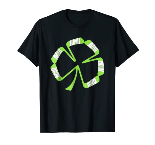 79fb4984c Image Unavailable. Image not available for. Color: St Patrick's Hockey Shamrock  T Shirt Gift Women Men Kids