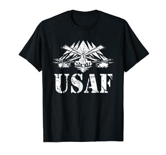 7fc8e168 Amazon.com: USAF US' Air-Force, Physical-Training, US Military Tee ...