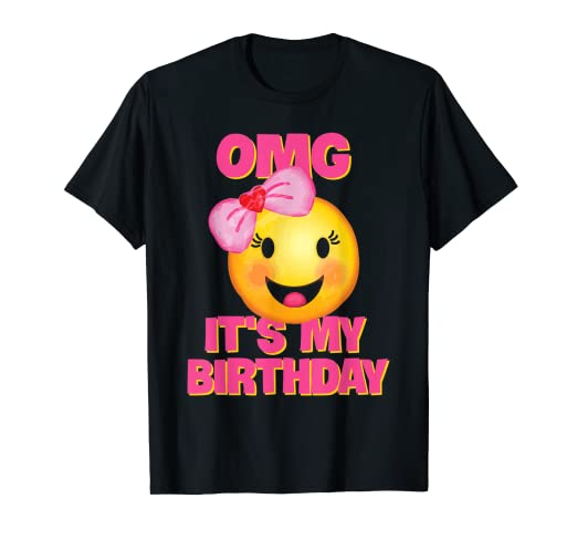Image Unavailable Not Available For Color OMG Its My Birthday Shirt
