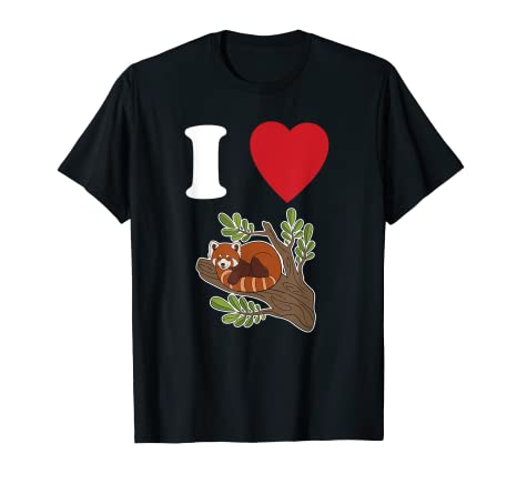Amazon.com  I Love Red Pandas  2aac23d9f