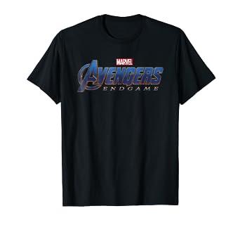 debb16c1324dab Amazon.com  Marvel Avengers Endgame Movie Logo Graphic T-Shirt  Clothing
