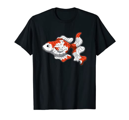 Amazon com: Sarasa Goldfish T Shirt Comet Ryukin Veiltail